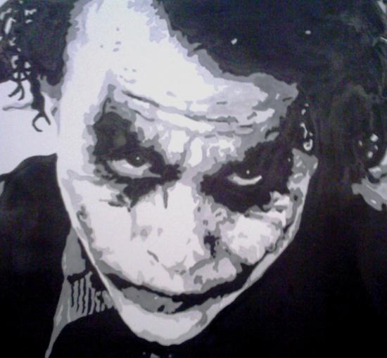 Heath Ledger por amandouPaint